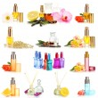 Collage of luxury perfumes — Stock Photo #40638595