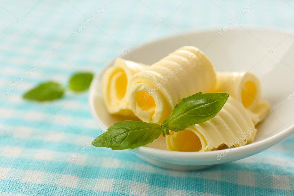 butter mit wenig fett