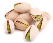 Pistachio nuts isolated on white — Stock Photo