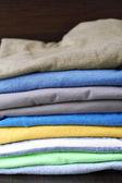 Close-up de roupas coloridas — Foto Stock