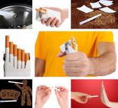 Concepto de dejar de fumar — Foto de Stock