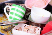 Utensili da cucina è necessario lavare vicini — Foto Stock