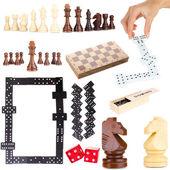 Collage di giochi intelligenti — Foto Stock