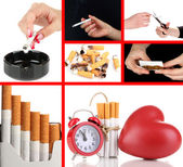 Concept of stop smoking — Foto Stock