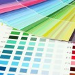 Stock Photo: Color samples close up