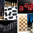 Smart games collage — Stock Photo