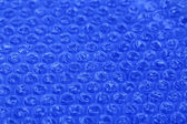 Color plastic bubble packing material, close-up — Stock Photo
