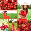 Collage of summer time — Stock Photo #42754579