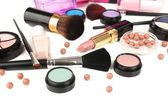 Professional make-up tools close up — Stock Photo