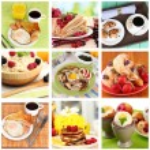 Breakfast collage — Stock Photo #42806993
