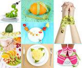 Conceito de dieta — Foto Stock