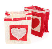 Gift bags isolated on white — Foto de Stock