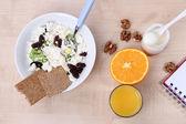 Easy fitness food to sustain shape in form — Foto de Stock