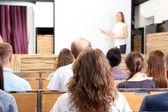 Reunión en la sala de conferencias — Foto de Stock