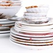 Dirty dishes close up — Stock Photo #43868941