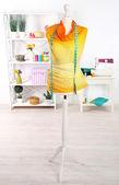 Female mannequin in creative studio — Stock Photo