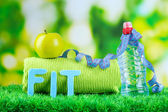 Fitness and healthy life. Conceptual photo — Stock Photo