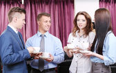 Business partners at office — Stock Photo