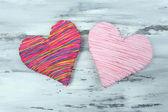 Decorative hearts — Stock Photo