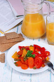 Easy fitness food to sustain shape in form  — Stock Photo