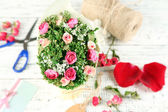Working place of florist. Conceptual photo — Stockfoto