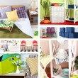 huis interieur collage — Stockfoto #45052493