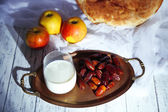 Conceptual photo of Ramadan table — Stock Photo