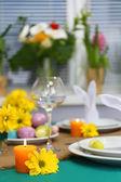 Tableau présentant de belles vacances pâques — Photo