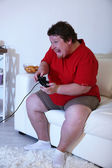 Fat man — Stock Photo