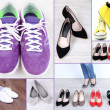 collage de diferentes zapatos — Foto de Stock   #45864273