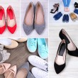 Collage of different shoes — Stock Photo #45864681