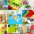 Home interior collage — Stockfoto #45903627