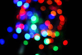 Festive background of lights — ストック写真