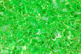 Green decorative stones close-up — Stock Photo