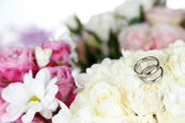 Beautiful wedding flowers close up — Stock Photo