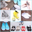 Collage of different shoes — Stock Photo #46301663