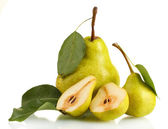 Juicy flavorful pears — Stock Photo