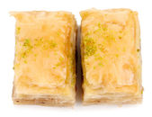 Sweet baklava — Stock Photo