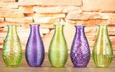 Different decorative vases — Stock Photo