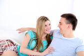 愛情のあるカップル — ストック写真