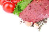 Ruwe rundvlees — Stockfoto