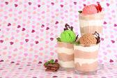 Heerlijke chocolademousse — Stockfoto