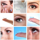 Contact lens — Stock Photo