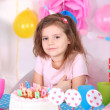 Girl celebrate birthday — Stock Photo #46442475