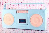 Barevné retro rádio — Stock fotografie