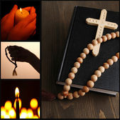 Religion collage — Stock Photo
