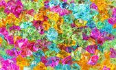 Primer plano de coloridas piedras decorativas — Foto de Stock