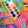 Bright school supplies close-up — Stock Photo #47540493