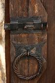Porta in legno retrò — Foto Stock