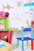学校教室のインテリア — ストック写真